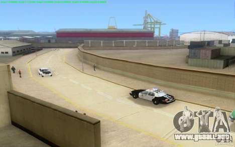 Caminos concretos de Los Santos Beta para GTA San Andreas twelth pantalla