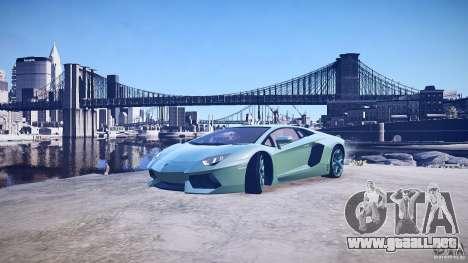 Lamborghini Aventador LP700-4 v1.0 para GTA 4 ruedas