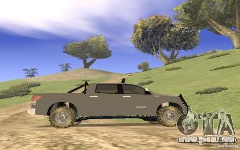 Toyota Tundra 4x4 para visión interna GTA San Andreas