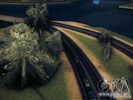 Aumento de dibujo máquinas y pedov para GTA San Andreas segunda pantalla