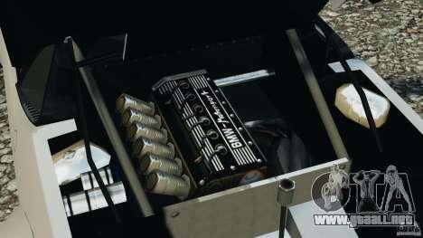 BMW M1 Procar para GTA 4 vista hacia atrás