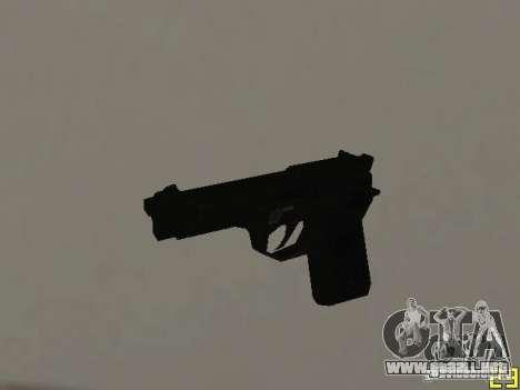 Armas de la COD MW 2 para GTA San Andreas tercera pantalla