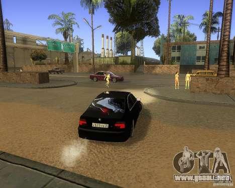 BMW 525i e39 para la visión correcta GTA San Andreas