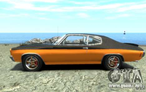Chevrolet Chevelle SS 1970 para GTA 4 left