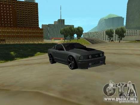 Ford Mustang GTS para GTA San Andreas left