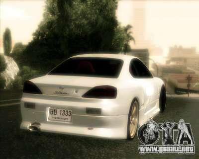 Nissan Silvia para vista lateral GTA San Andreas