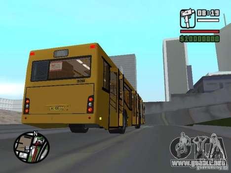 MAZ 103.465 para visión interna GTA San Andreas