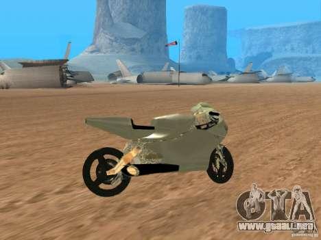 Turbine Superbike para la visión correcta GTA San Andreas