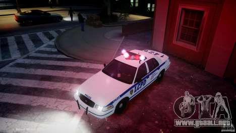 Ford Crown Victoria CVPI-V2.5V para GTA 4 vista superior