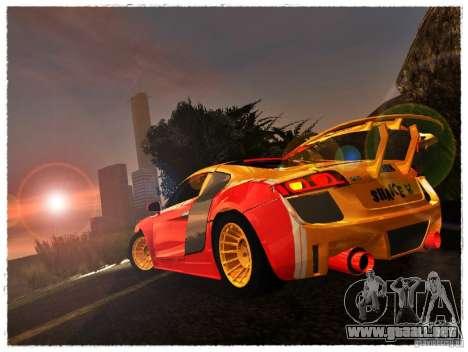 Audi R8 Calibri-Ace para GTA San Andreas left
