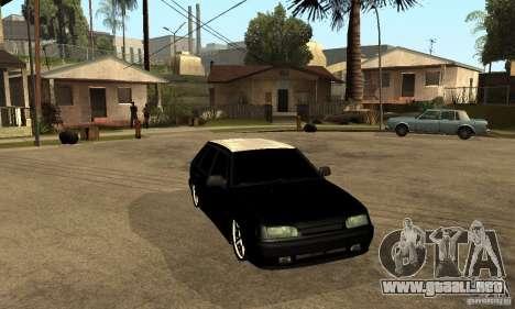 Lada ВАЗ 2114 LT para GTA San Andreas vista hacia atrás