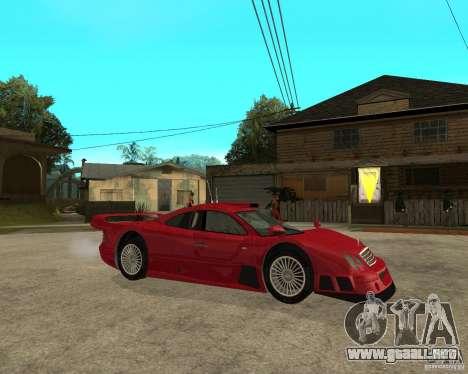 Mercedes-Benz CLK GTR road version para la visión correcta GTA San Andreas