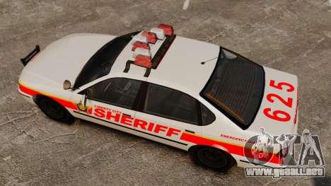 Nueva patrulla de la policía para GTA 4 visión correcta