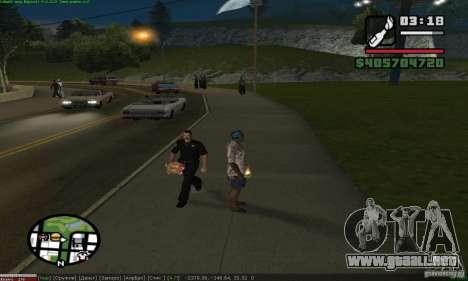 Weapons for pedestrian para GTA San Andreas