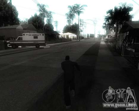 GTA SA - Black and White para GTA San Andreas tercera pantalla