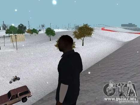 Snow MOD 2012-2013 para GTA San Andreas novena de pantalla