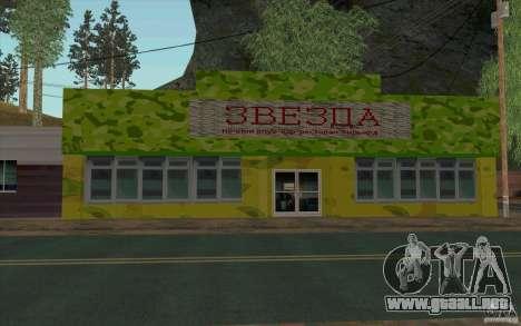 Una aldea nueva Dillimur para GTA San Andreas séptima pantalla