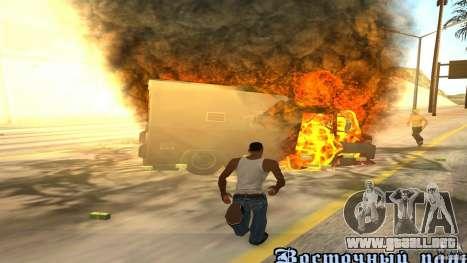 Bono coleccionistas v1.2 para GTA San Andreas quinta pantalla