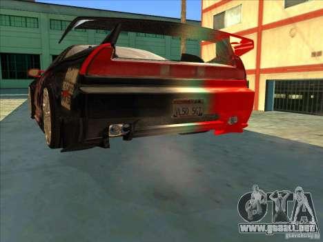 Acura NSX 1991 Tunable para GTA San Andreas interior