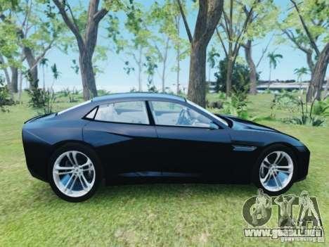Lamborghini Estoque para GTA 4 visión correcta