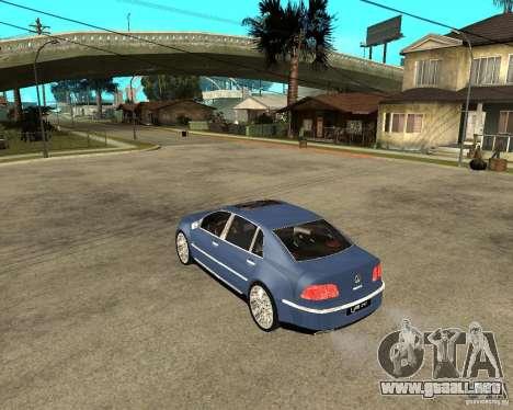 Volkswagen Phaeton para GTA San Andreas left