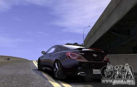 Hyundai Genesis Coupe 2013 para GTA 4 left