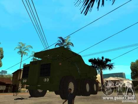 Belaz para GTA San Andreas