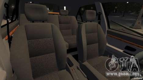Peugeot 406 Taxi para GTA 4 vista interior