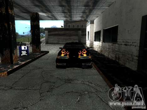 Rèjzora de vinilo de Most Wanted para GTA San Andreas vista hacia atrás