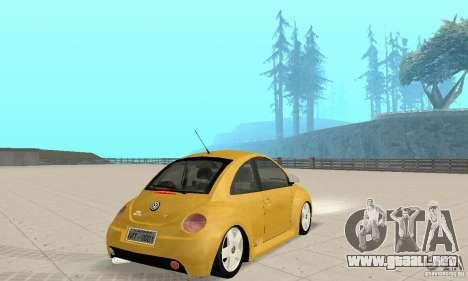 Volkswagen New Beetle GTi 1.8 Turbo para GTA San Andreas left