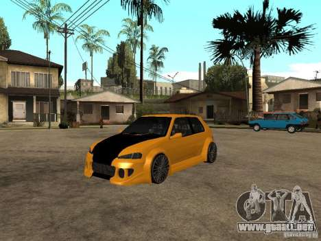 Peugeot 106 Tuning para GTA San Andreas