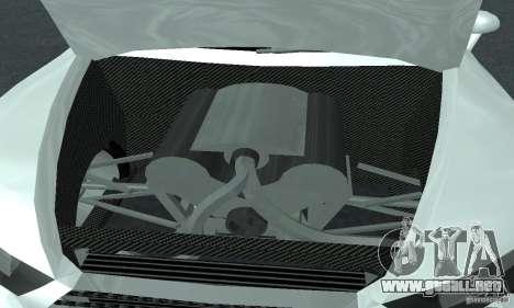 Audi Quattro Concept 2013 para visión interna GTA San Andreas