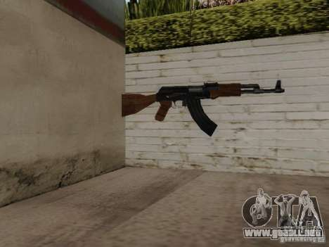 AK-47 de Saints Row 2 para GTA San Andreas