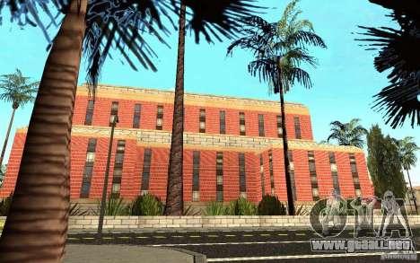 Nuevas texturas para el hospital en Los Santos para GTA San Andreas quinta pantalla