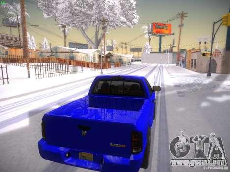 Dodge Ram SRT-10 para la visión correcta GTA San Andreas