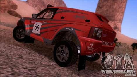 Range Rover Bowler Nemesis para GTA San Andreas left