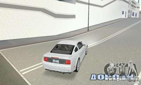 Saleen S281 Pack 1 para GTA San Andreas left