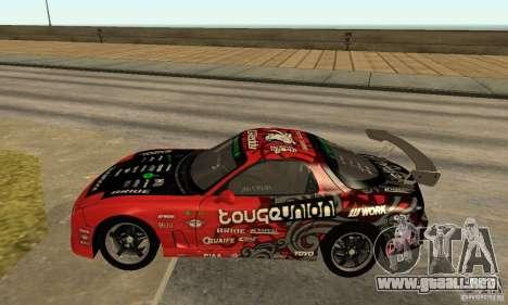 Mazda RX-7 FD3S para GTA San Andreas left