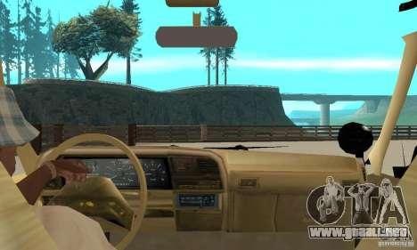 Ford Explorer (Jurassic Park) para GTA San Andreas vista hacia atrás