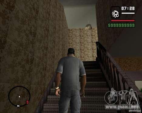 Sustitución de la CJeâ casa entera para GTA San Andreas tercera pantalla