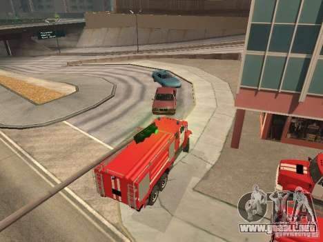 Firetruck ZIL para la visión correcta GTA San Andreas