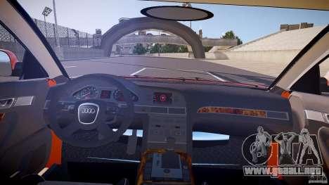 Audi A6 Allroad Quattro 2007 wheel 2 para GTA 4 vista hacia atrás