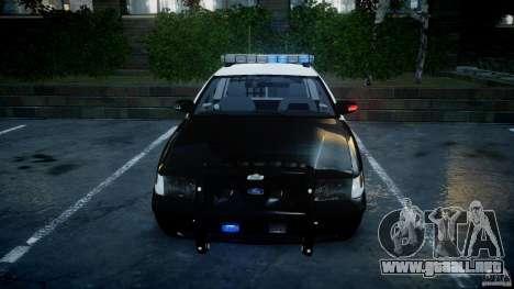 Ford Crown Victoria SFPD K9 Unit [ELS] para GTA 4 vista desde abajo