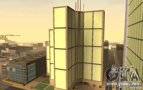 Rascacielos en San Fierro para GTA San Andreas