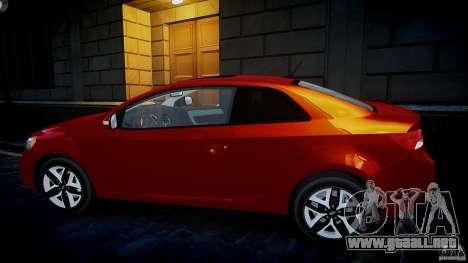 KIA Forte Koup para GTA 4 left