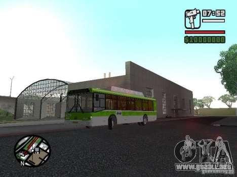 LIAZ 5292.70 para GTA San Andreas left