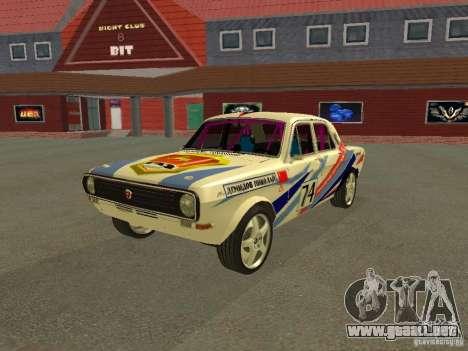 Volga GAZ 24-10 Rally para GTA San Andreas