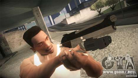 Weapon Pack by GVC Team para GTA San Andreas quinta pantalla