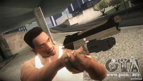 Weapon Pack by GVC Team para GTA San Andreas quinta pantalla