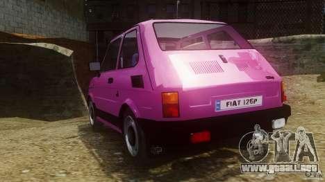 Fiat 126p FL Polski 1994 Wheels 1 para GTA 4 Vista posterior izquierda